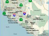 Tustin California Map 17 Best orange County Images California Map orange County
