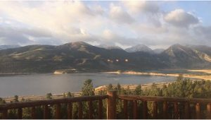 Twin Lakes Colorado Map Twin Lakes From Pan Ark Estates Vrbo Rental Home Picture Of Twin