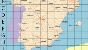 Ubeda Spain Map Giant Map Of Spain Travel Spain Map Of Spain Map Spain