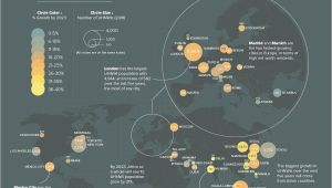 Ultra Europe Map Map Cities with the Most Ultra Rich Residents Mapped the