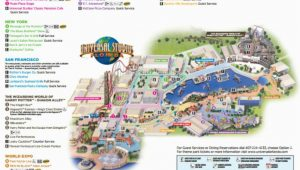 Universal Studios California Map Pdf Maps Of Universal orlando Resort S Parks and Hotels