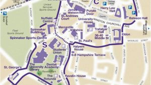 University Map England Find Your Way Around Our Campus the University Of