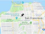 University Of California Locations Map University Of San Francisco