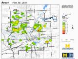 University Of Michigan Flint Map Crime Map Library Current Data Set Michigan Youth Violence