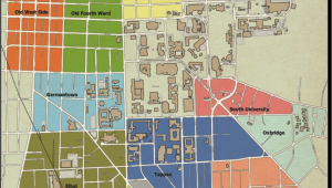 University Of Michigan north Campus Map Off Campus Community Sustainability Planet Blue