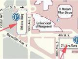 University Of Minnesota Parking Map Misrc Directions Parking