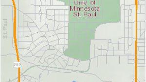University Of Minnesota St Paul Campus Map Campus Maps