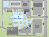 University Of New England Campus Map Campus Map Around the Hospital Campus Map Children S Medical