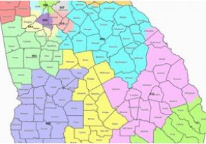 University Of north Georgia Map Map Georgia S Congressional Districts