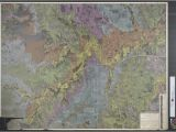 University Of Texas at Arlington Map Geological Map Of Central Tarrant County the Portal to Texas History