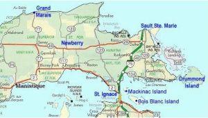 Up Map Of Michigan Map Of Eastern Upper Peninsula Of Michigan Trips In 2019 Upper