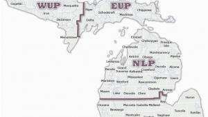 Upper Michigan Snowmobile Trail Map Dnr Snowmobile Maps In List format