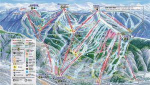Vail Colorado Maps Vail Trail Map Wanna Go Back Already Love these Vail Colorado