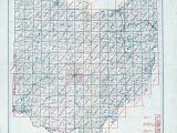 Van Wert Ohio Map Ohio Historical topographic Maps Perry Castaa Eda Map Collection