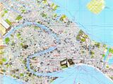 Venice Italy Map Of attractions Venice Street Map Venice Italy Mappery Places I D Like to Go