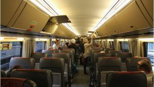 Via Rail Canada Map the Canadian Observation Car Lower Level Picture Of Via