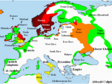 Viking Map Of Europe atlas Of European History Wikimedia Commons
