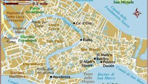 Walking tour Map Of Venice Italy Map Of Venice