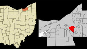Walton Hills Ohio Map Garfield Heights Ohio Wikipedia