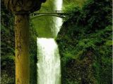 Waterfalls In oregon Map A Map Of United States Of America All Around the World Multnomah