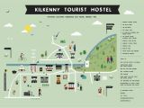 Waterville Ireland Map Kilkenny tourest Hostel Map Ireland Trip 2015 Irland