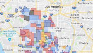 Watts California Map Gangs Of Los Angeles 2019 Google My Maps