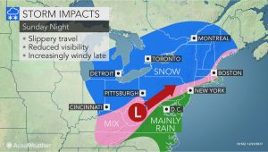 Weather Map for Columbus Ohio Christmas Eve Day Winter Storm to Snarl Traffic In Midwestern and