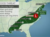Weather Map for Georgia Heavy Rain to Raise Flood Concerns In southern Us Early This Week