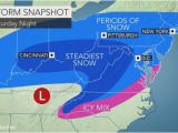 Weather Map for north Carolina N J Weather forecast Updated for Potential Weekend Snow Expect