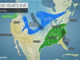 Weather Map for Ohio Eastern Us May Face Wet Snowy Weather as Millions Celebrate the End