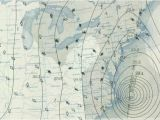 Weather Map Of New England Weather Map From the 1938 New England Hurricane Graphic Map
