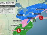 Weather Map Of north Carolina Potent Winter Storm to Lash Eastern Us with Snow soaking Rain by