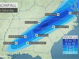 Weather Map Of north Carolina Snowstorm Cold Rain and Severe Weather Threaten southeastern Us