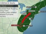 Weather Map Of north Carolina Weather 5 Things to Know About Hurricane Florence Weekend forecast