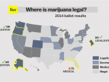 Weed Map Colorado Marijuana Legalization Sweeps the 2014 Midterm Elections Vox