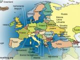 Western Europe Physical Features Map Europe Physical Features Map Climatejourney org
