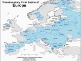 Western Europe River Map Europe River Map Arm0nia org