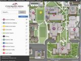 Western State Colorado University Map Campus Maps Colorado Mesa University
