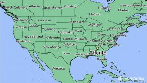 Where is atlanta Georgia On the Map Of Usa where is atlanta Ga atlanta Georgia Map Worldatlas Com