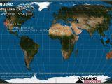 Where is California Located On the World Map Earthquake Info M2 6 Earthquake On Wed 14 Nov 15 56 32 Utc