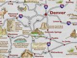 Where is Colorado Springs On the Map Colorado Springs Us Map