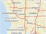 Where is Compton California On A Map Los Angeles area Map U S News Travel