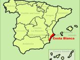 Where is Costa Brava In Spain Map Costa Blanca Maps Spain Maps Of Costa Blanca