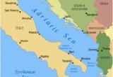 Where is Croatia Located On A Map Of Europe Adriatic Cruise Venice Bari Dubrovnik Montenegro