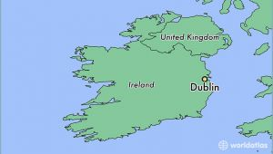 Where is Dublin Ireland Located On A Map 77 Clearly Defined where is Ireland On World Map