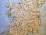 Where is Ireland Located On A Map Ireland Map In the Dining Room Picture Of Ballymore House Bed