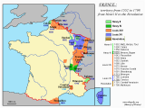 Where is Lille In France Map File France 1552 1798 Png Wikimedia Commons