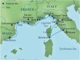 Where is Marseille France On A Map Map Of Spain France and Italy Cruising the Rivieras Of Italy France