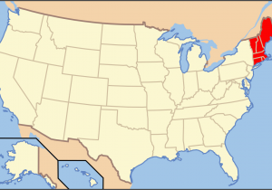 Where is New England Located On the Map List Of Mammals Of New England Wikipedia