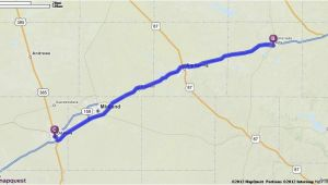 Where is Odessa Texas On the Map Driving Directions From Odessa Texas to Odessa Texas Mapquest
